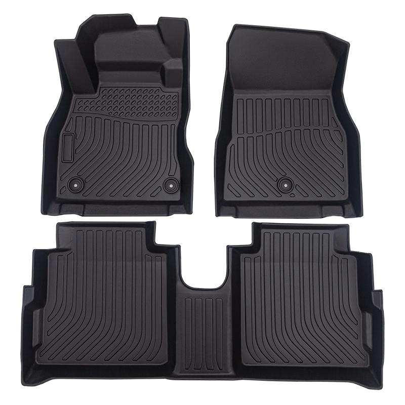 All weather 3D Car floor mats car floor liners for Nissan Kicks