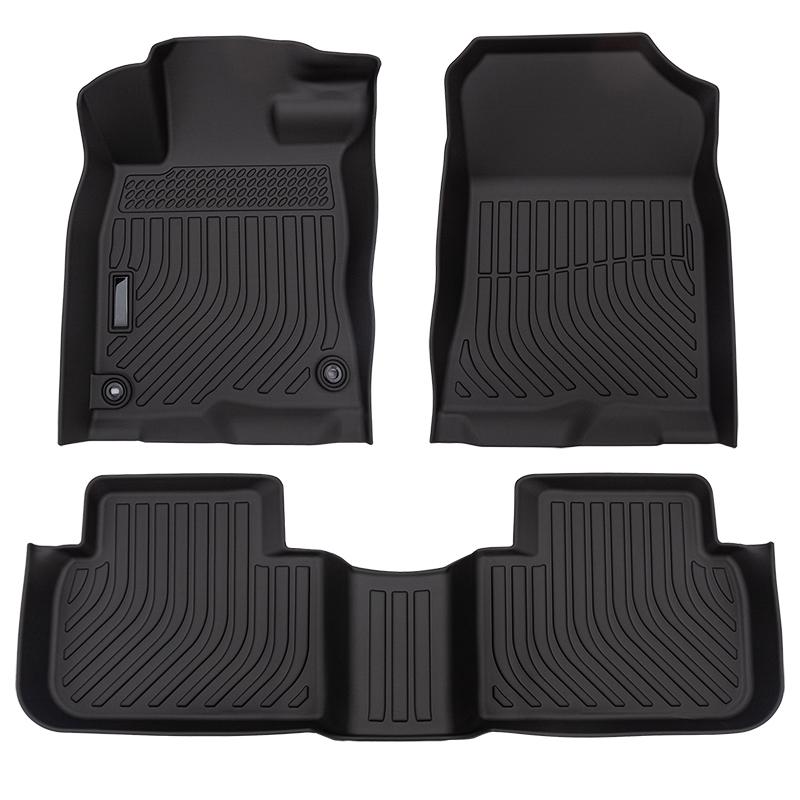 All weather car floor mats liners for Honda Civic 2022- carpet cargo trunk mat