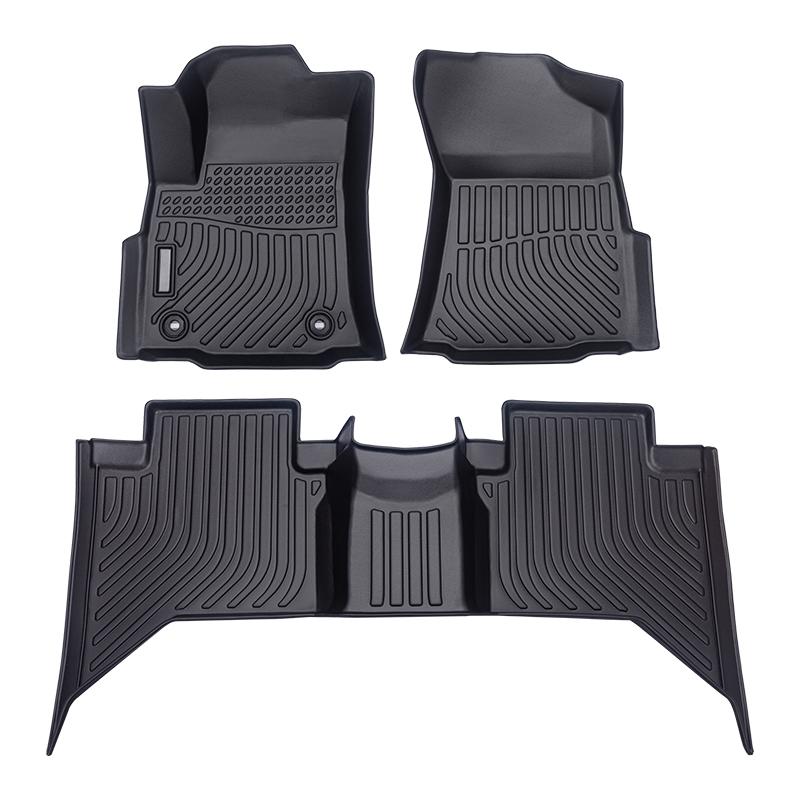 3D car floor liner car floor mats for Toyota Hilux Revo carpet matting