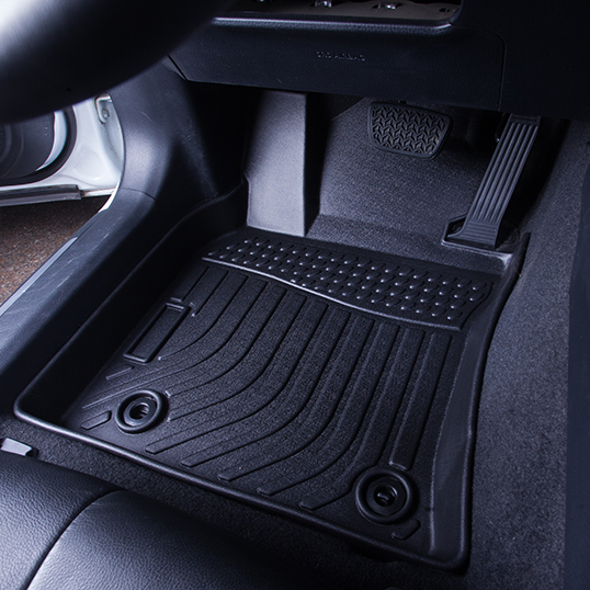 3D TPE weather car floor liner car floor mat for 2015-2019 Toyota Hilux